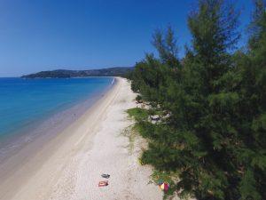 Layan Beach at the north end of Bang Tao Bay