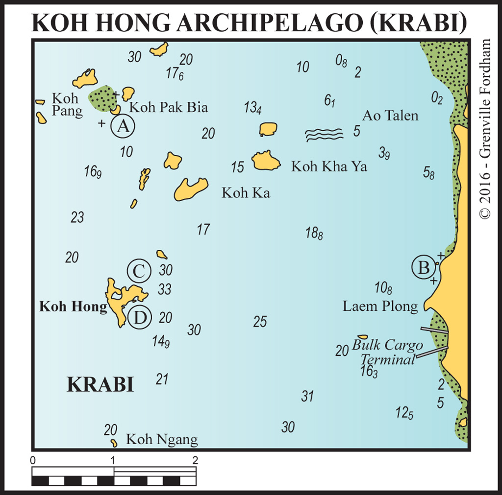 Koh hong archipelago