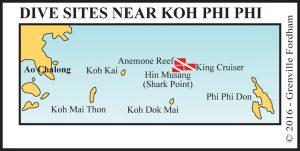 Dive site near Koh Phi Phi