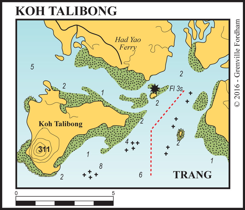 Approaches to Kantang (trang River)