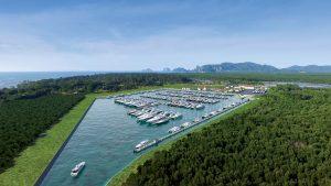 Port Takola Yacht Marina & Boatyard Krabi (artist's impression)