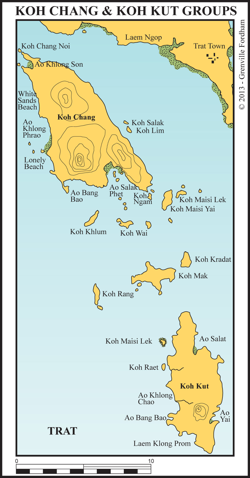 Koh Chang & Koh Kut Groups