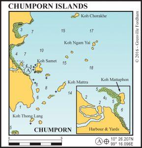 Chumporn Islands
