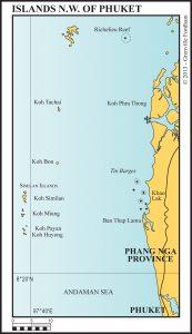 ISLAND N.W. OF PHUKET