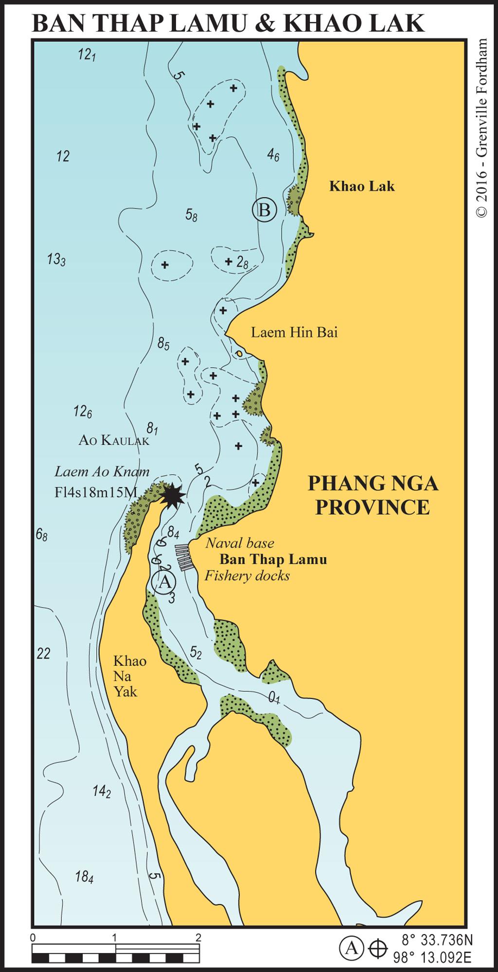 Thaplamu to Khao Lak