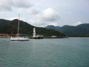 The pier at Ao Bang Bao by BillO'Leary