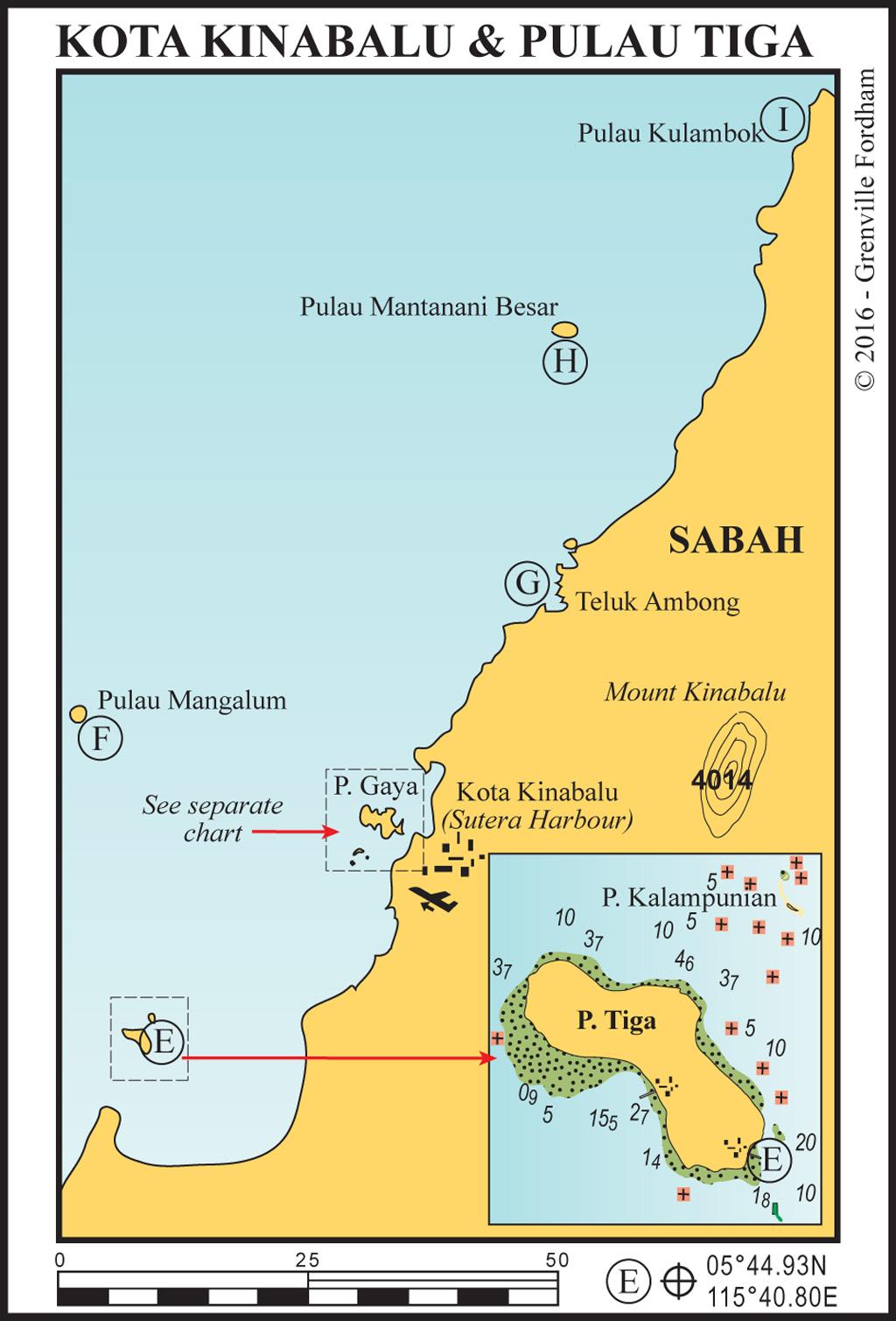 Kota Kinabalu & Pulau Tiga