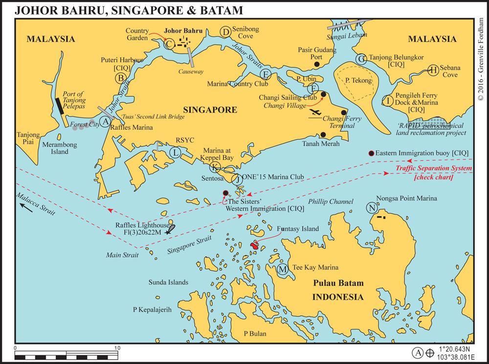 JOHOR BAHRU,SINGAPORE & BATAM