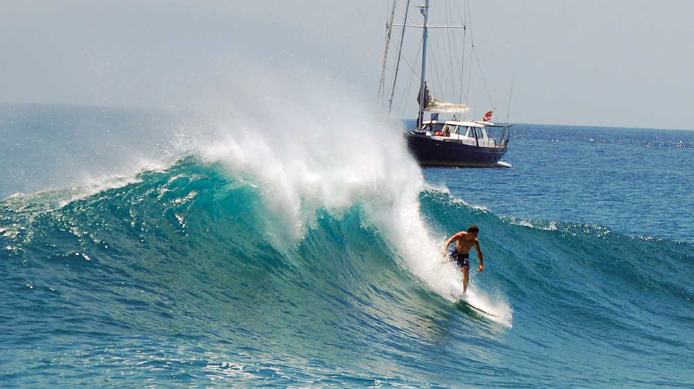 Surfing in Timor - Photo by Paul Johnson