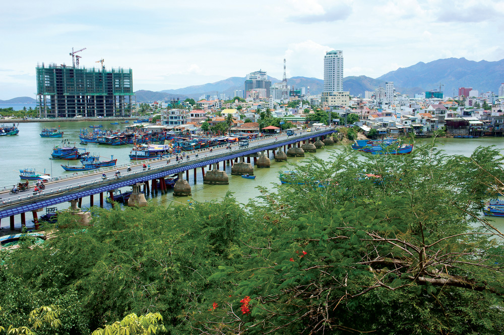 Nha Trang city - view from Pagoda tower - Photo by Xuanhuongho/Shutterstock.com