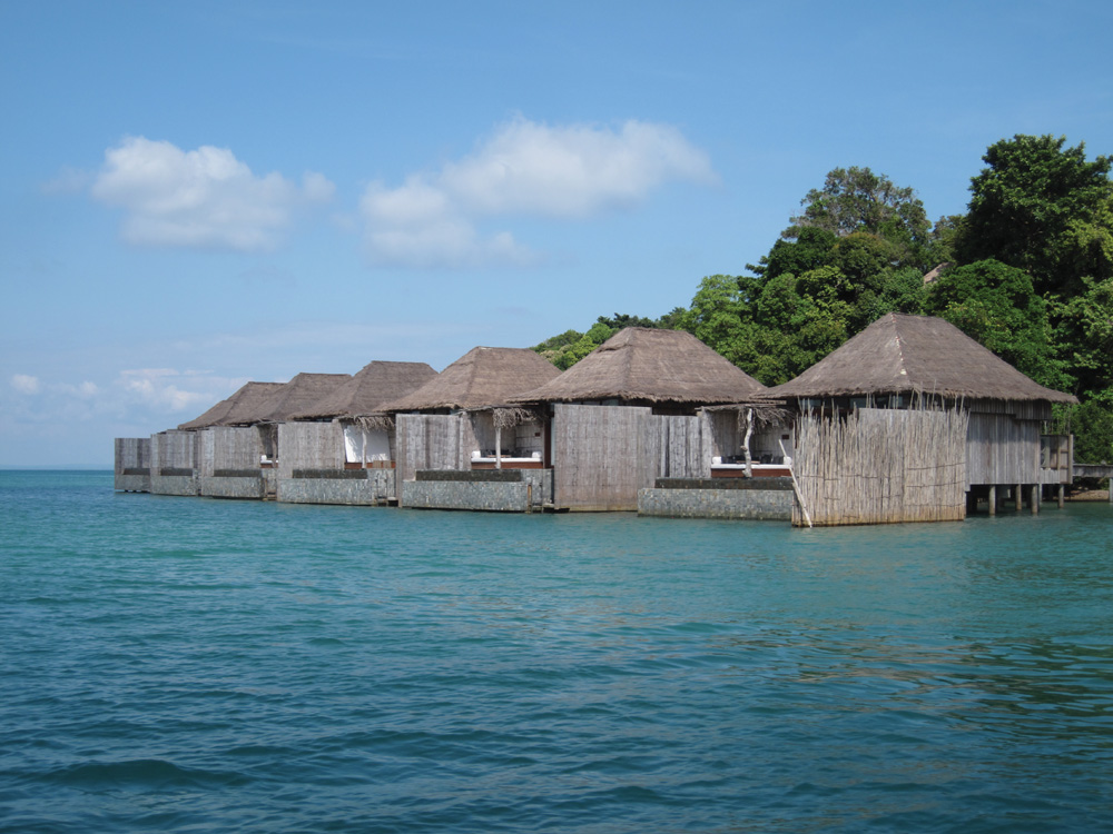 Over-water Villas at Song Saa private island - Photo by Bill O'Leary