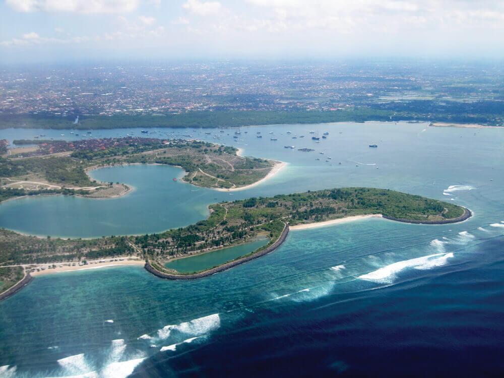 Serangan anchorage, Bali