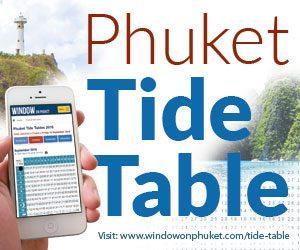 Phuket tide tables