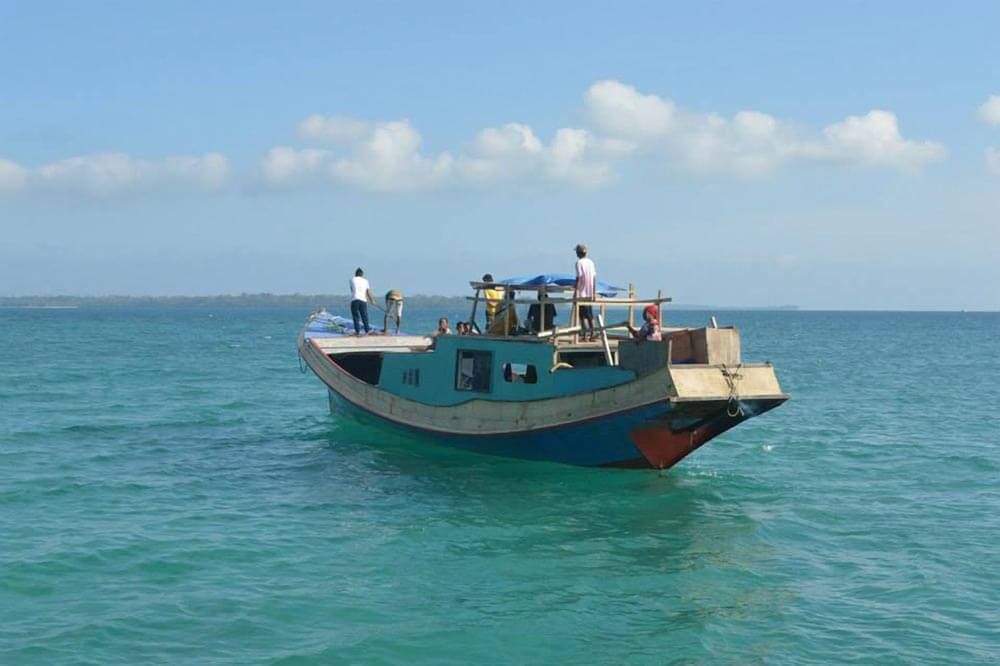 Travel to Balabac used to be hazardous, with twice-monthly trips by small boat from Puerto Princesa | Photo by Palawan BlogOn, Department of Education Division of Palawan