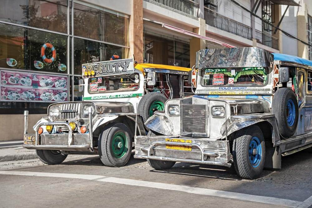 Jeepneys: public transport in the Philippines