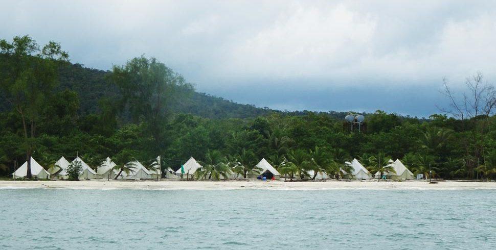 Tented resort, South Koh Rong