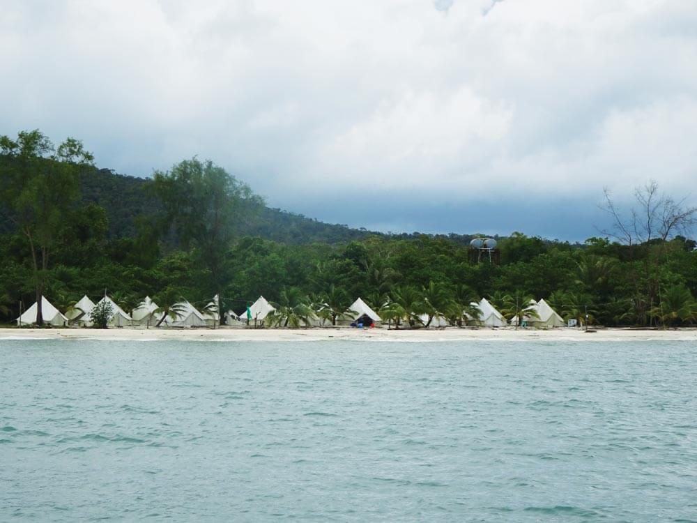 Tented resort, Cambodia