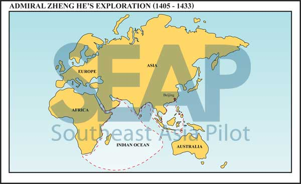 Admiral Zheng He's exploration (1405-1433)