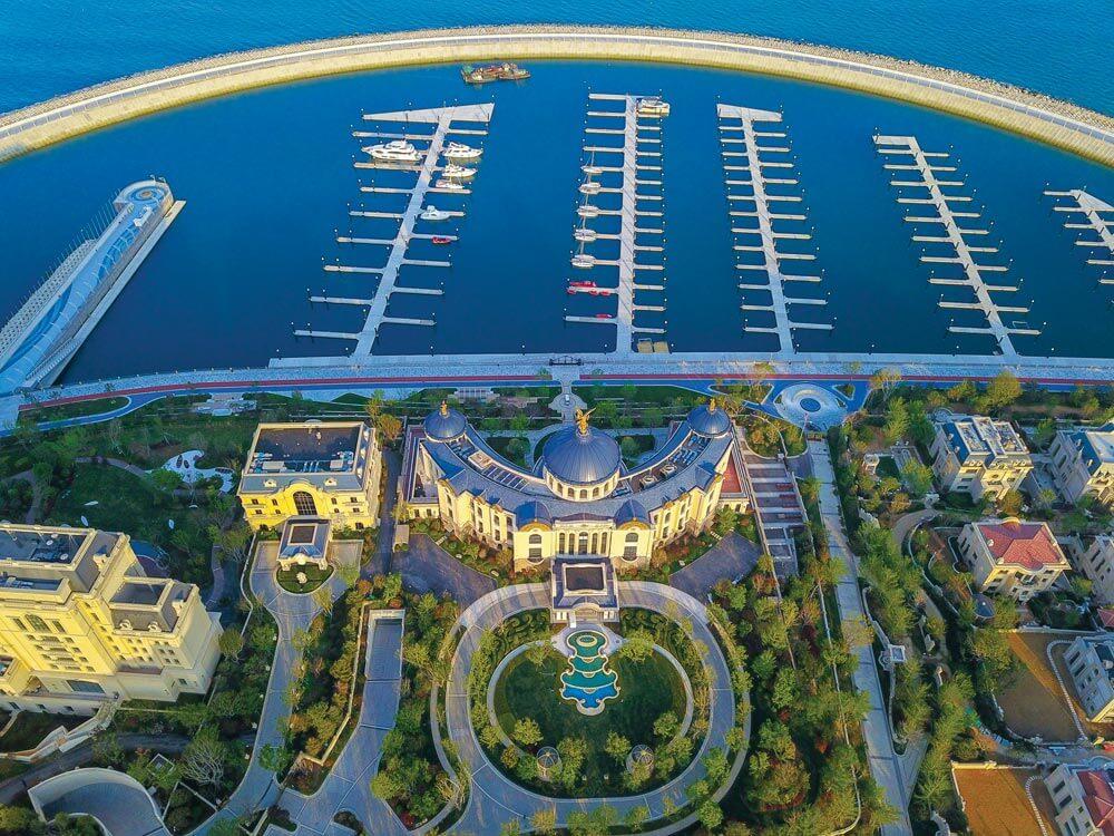 Qingdao Movie Metropolis SUNAC Yacht Club