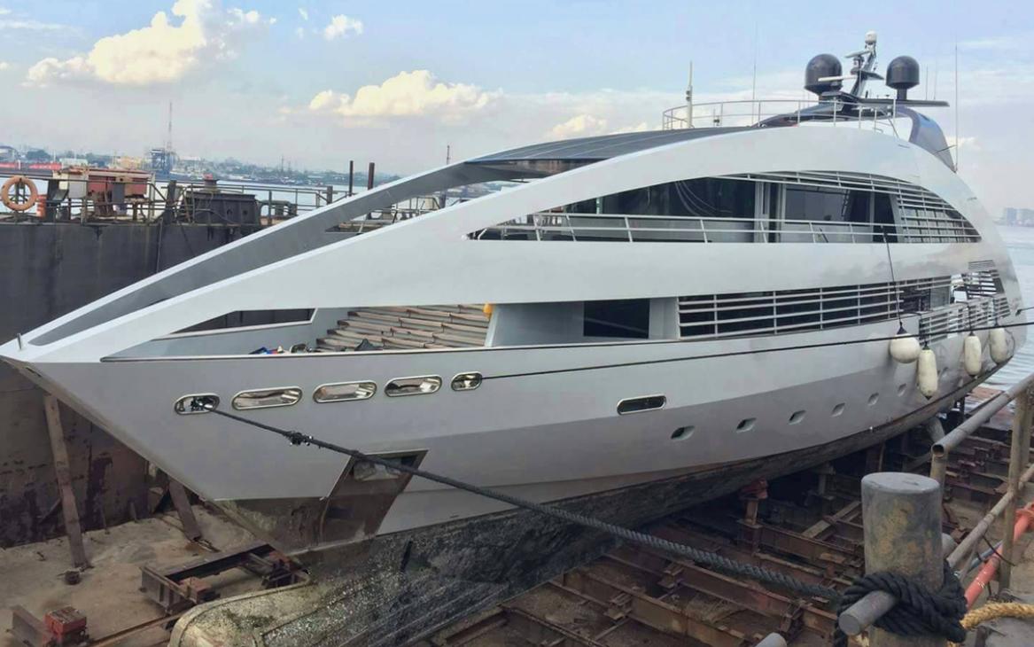 Superyacht refit at Italthai Marine Ltd