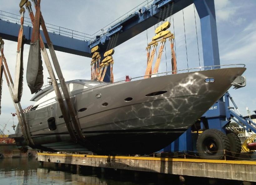 Superyacht refit at Penguin Shipyard