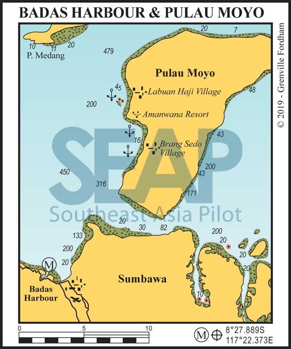Sumbawa - Badas Harbour & Pulau Moyo