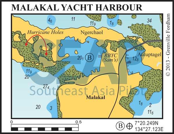 Malakal Yacht Harbour & Royal Belau Yacht Club