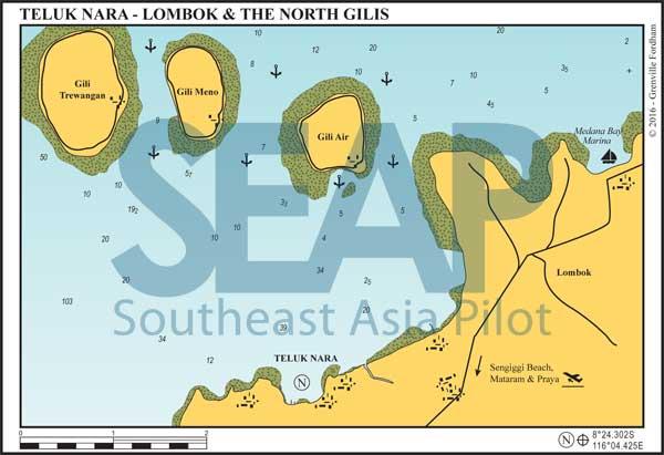 Teluk Nara & The North Gilis