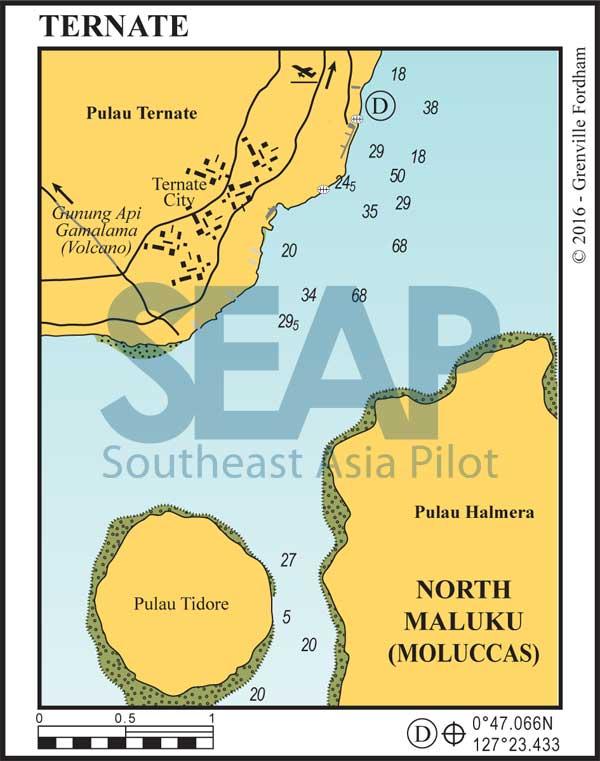 Ternate, Equatorial Region