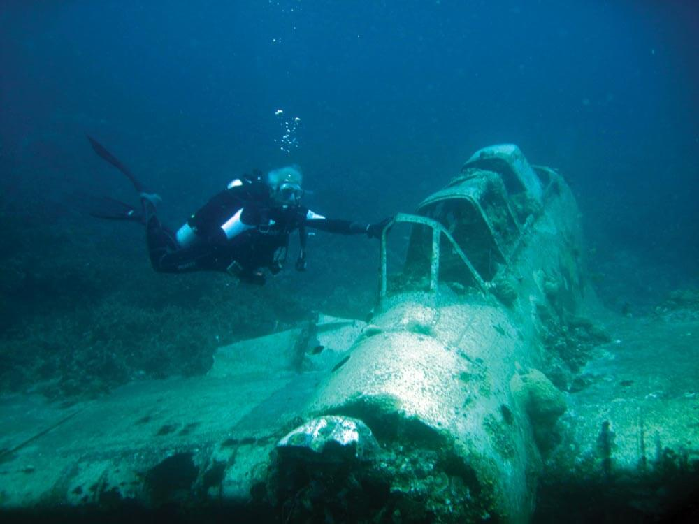 WWII wreck in Palau