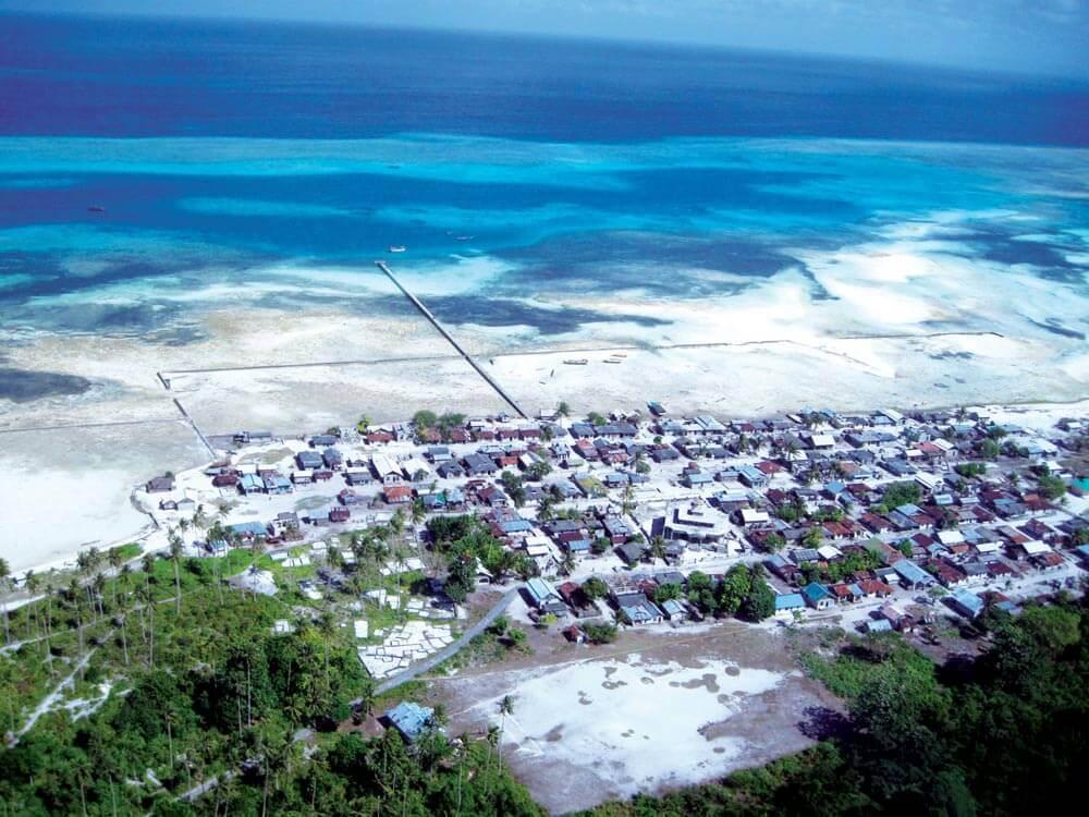 Muslim village in the Kai Islands