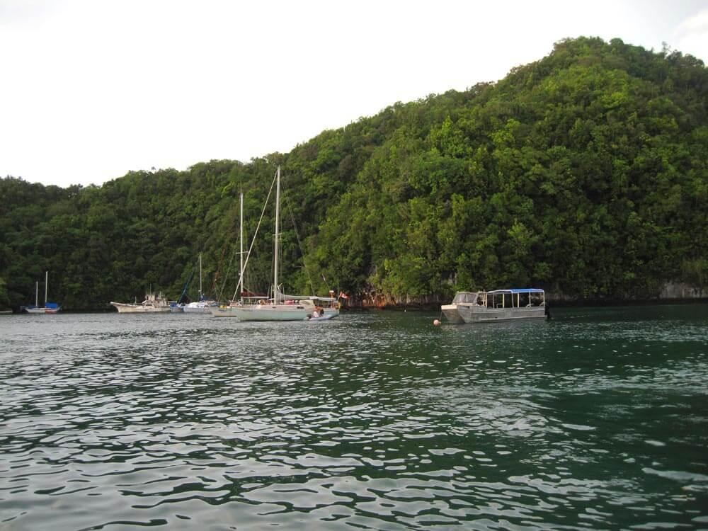 Palau moorings
