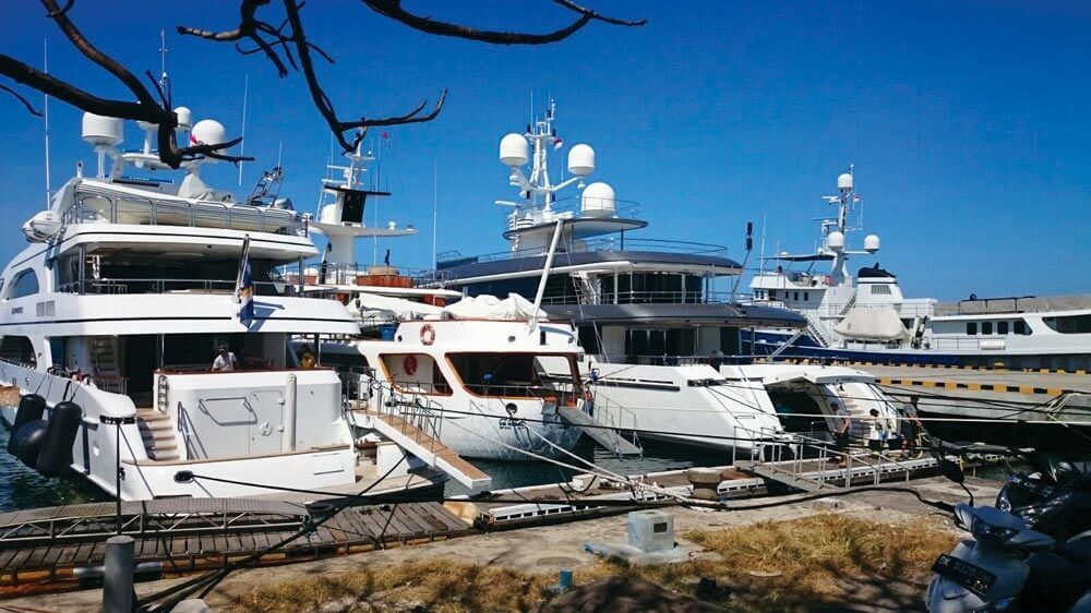 Asia Pacific Superyachts superyacht berths