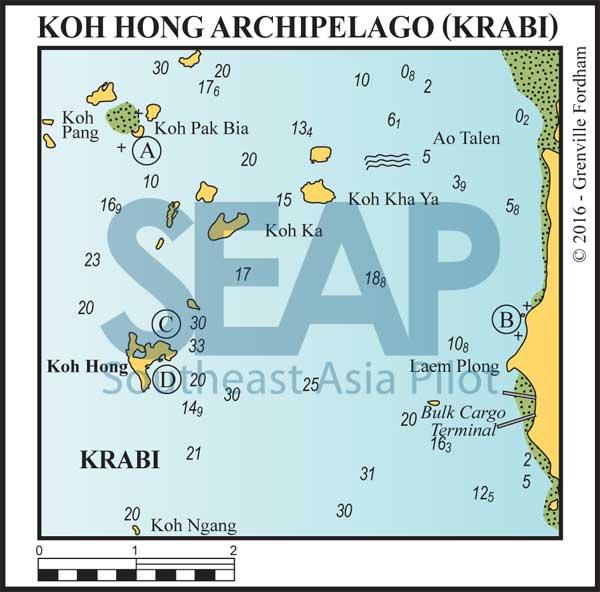 Koh Hong Archipelago, Krabi, Thailand