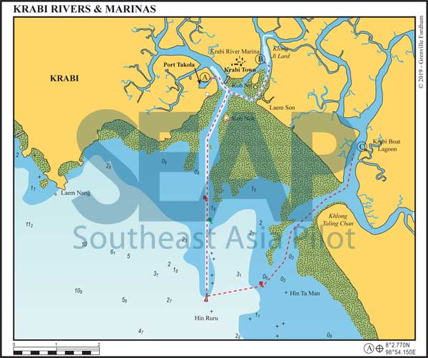 Krabi Rivers & Marinas