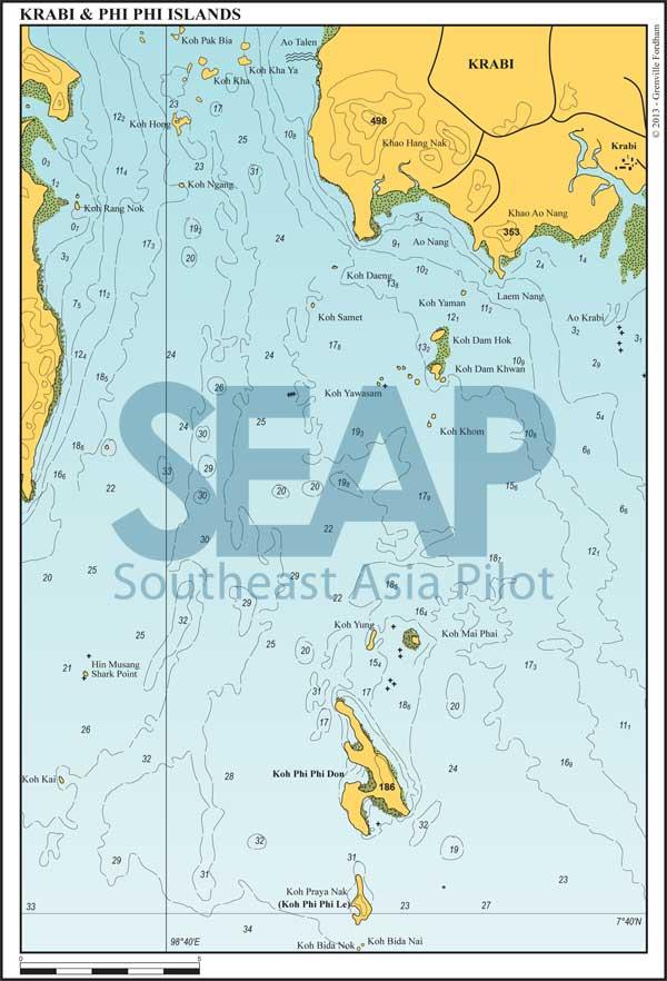 Krabi and the Phi Phi islands