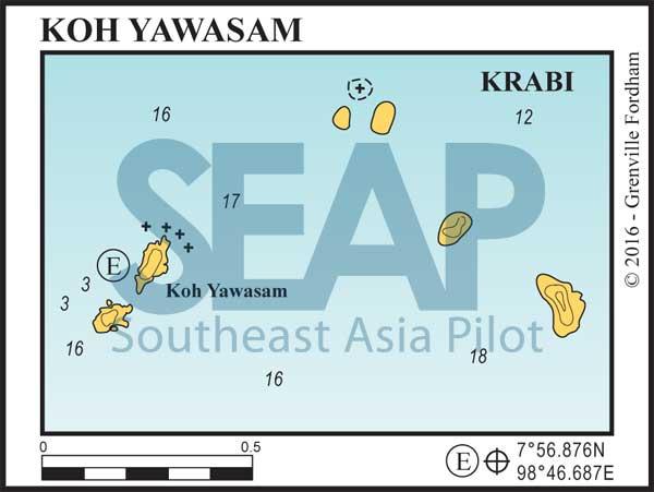Koh Yawasam, Krabi