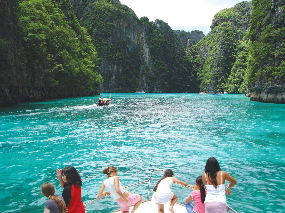 The spectacular Koh Phi Phi Le