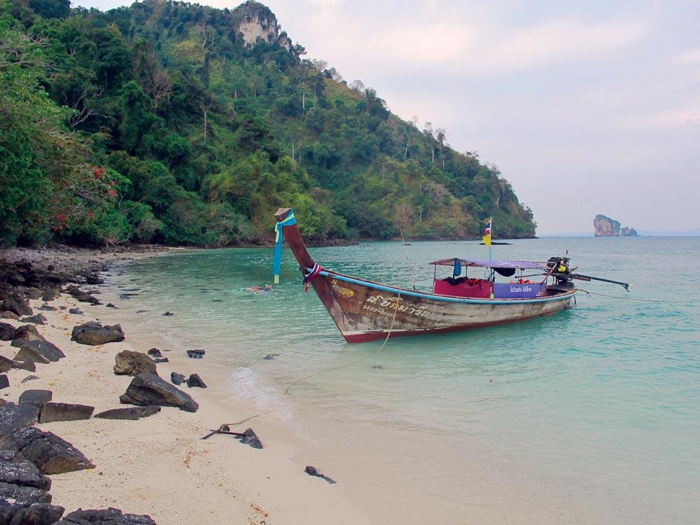 Beach at Koh Dam Khwan