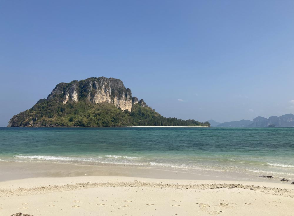 Stunning Koh Poda viewed from Koh Tup