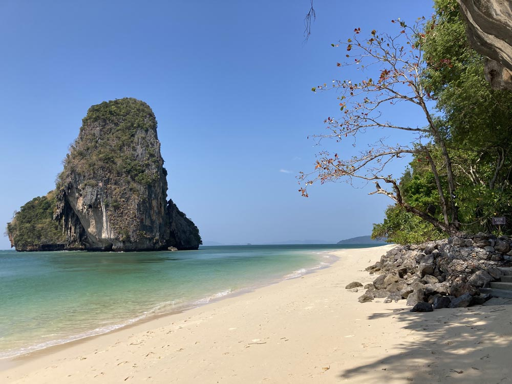 Phra Nang Beach and nearby small islet