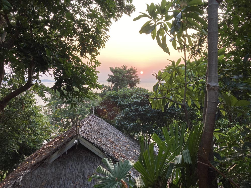 Sunrise from Railay Great View Resort and Spa