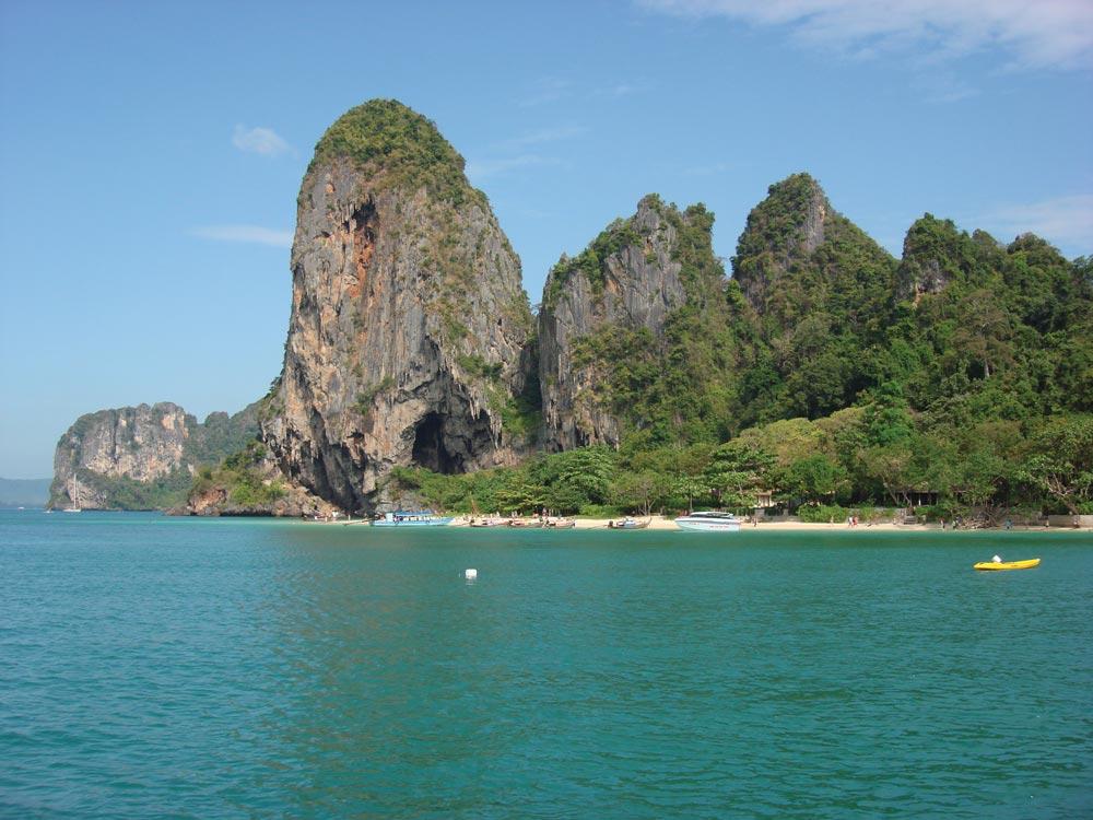 Krabi's famous Railay Beach