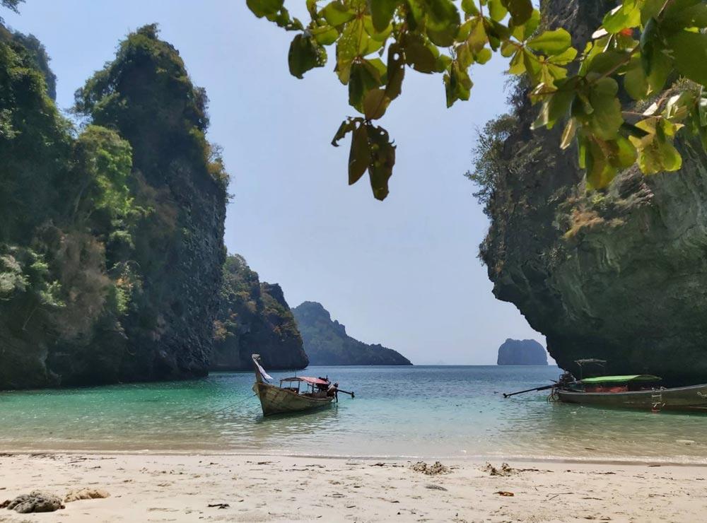 'Secret Beach' at Koh Poda