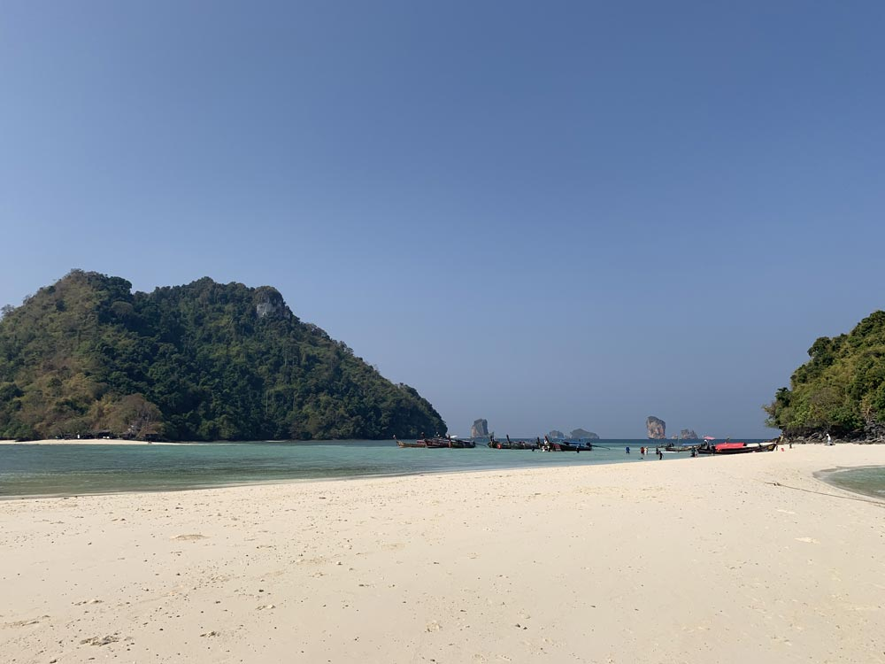 View from Tham Phra Nang Beach