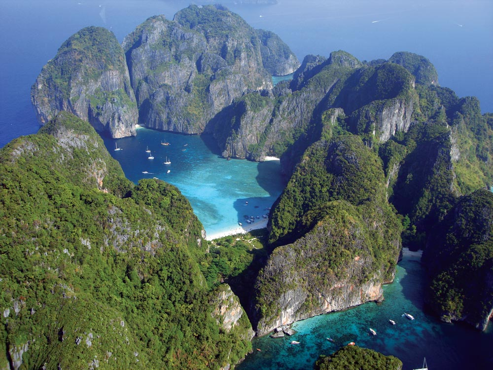 Maya Bay, Koh Phi Phi Le