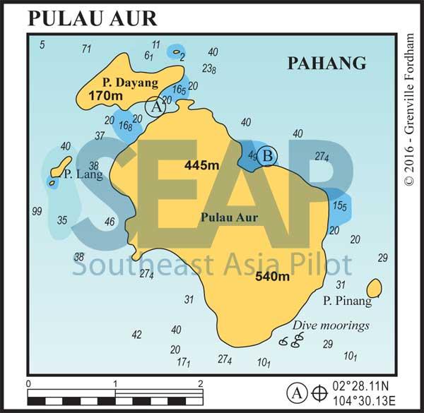 Pulau Aur chart