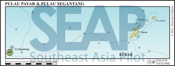 Pulau Payar & Pulau Segantang chart