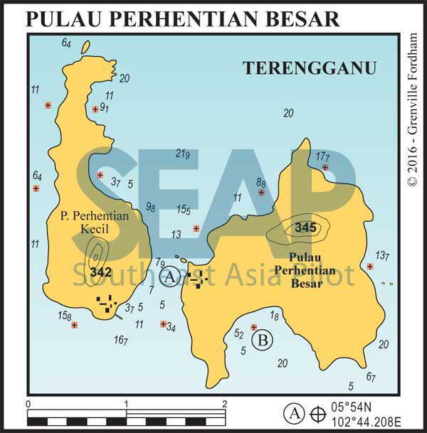 Pulau Perhentian Besar chart