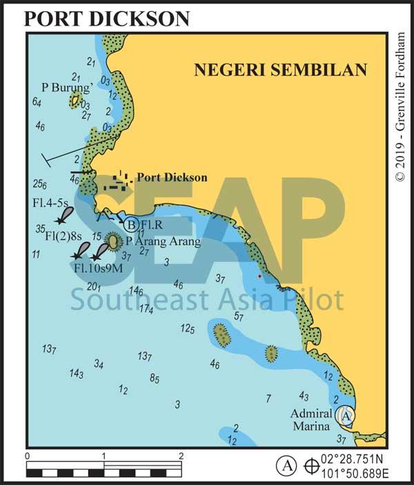 Port Dickson chart